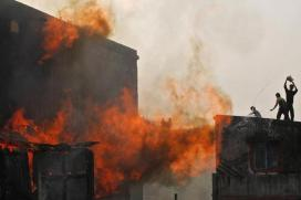 6 Killed as Fire Breaks Out in Air Cooler Godown in Hyderabad