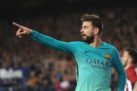 Gerard Pique annoyed by Barca fans' booing of coach Luis Enrique