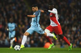 Champions League: Sergio Aguero stars as Man City sink Monaco