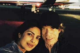 Confirmed! Priyanka Chopra To Attend Oscars 2017, Shares Photo With Mick Jagger