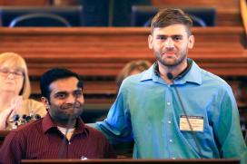 Indian-Americans Raise USD 100,000 for Kansas Survivor Ian Grillot