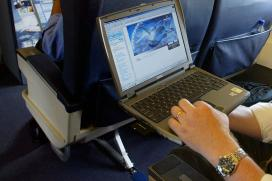 Laptop Ban Creates Turbulence For Airline Profits