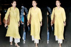 Anushka Sharma Effortlessly Pulls Off A No Makeup Look