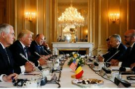 Trump Scolds NATO Allies, Warns of Unending Fight Against Militants