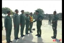 IAF Chief Dhanoa Leads 'Missing Man' Formation to Honour Kargil Martyrs