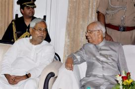 Governor Tripathi, Who Has Weathered Many a Political Storm
