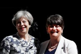 Theresa May Strikes 1 Billion Pound Deal to Get DUP Support For Her Govt