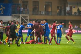 Brazil's Oscar Banned for Eight Chinese League Games for Triggering Brawl