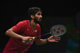 Srikanth Beats Praneeth to Secure Semi-final Berth
