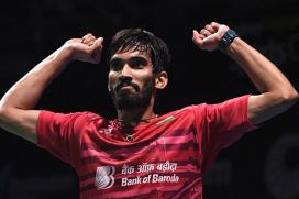 Kidambi Srikanth Says Next Aim is to Win World Championship