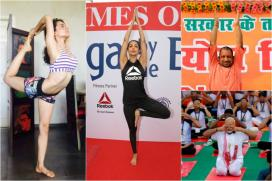 International Yoga Day 2017: Here's How Politicians And Celebrities Observed The Day