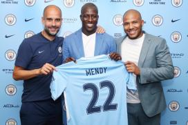 Manchester City Sign Benjamin Mendy For Record Fees