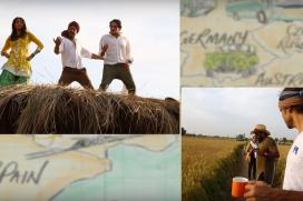 SRK-Anushka Flutter Around in Fields in This BTS Video of Butterfly