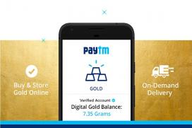 Paytm to Offer 'Digital Gold' as Cashback on Transactions