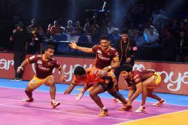 Pro Kabaddi: U Mumba Beat UP Yoddha 37-34 in a Nail-biting Finish