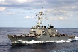 10 Sailors Missing After US Destroyer Collides With Tanker Off Singapore