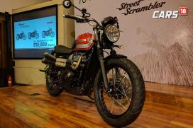 Triumph Street Scrambler Launched in India For Rs 8.10 Lakh
