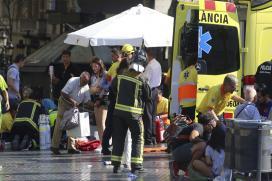 Barcelona Attack: 13 Dead as Van Plows into Crowd at Las Ramblas, 1 Held