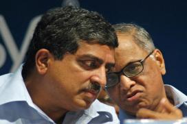 Sikka Exit: When Murthy Lost Rs 119 cr in Market Cap and Nilekani Rs 292 cr