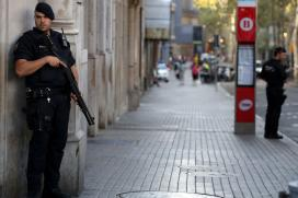 Spanish Police Continue Hunt for Driver Who Left Trail of Carnage in Barcelona