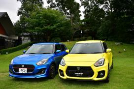 2018 Maruti Suzuki Swift And Suzuki Swift Sport Spotted Together