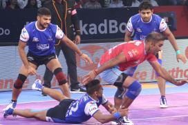 Pro Kabaddi 2017: Haryana Steelers Beat Jaipur Pink Panthers 36-24