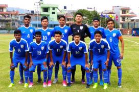 India beat Palestine in AFC U-16 Qualifiers