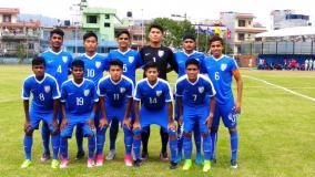India beat Palestine in AFC U-16 Qualifiers