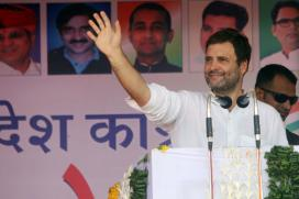Rahul Gandhi to Hit Gujarat Assembly Election Campaign Trail Today