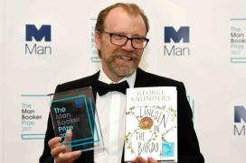 George Saunders Wins Man Booker Prize 2017 for 'Lincoln in the Bardo'