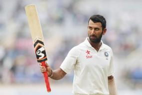 Pujara Slams Century on Home Debut For Nottinghamshire