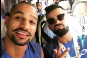 Virat Kohli and Shikhar Dhawan Turn on Delhi Swag in London