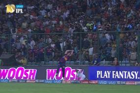 IPL 2017: Ben Stokes Sets New Boundary Line Catching Goals