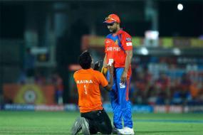 IPL 2017: Raina Fan Enters Field To Meet His Favourite Cricketer