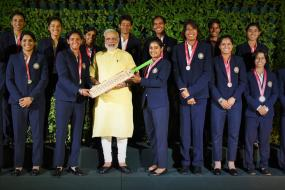 PM Narendra Modi Meets Indian Women's Cricket Team