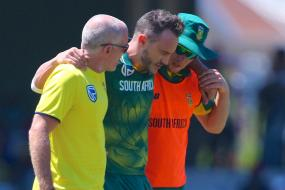 Du Plessis Injury Spoils South Africa Series Win Over Bangladesh
