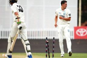 Mitchell Starc on Fire, Picks 2nd Hat-trick of Game Against WA