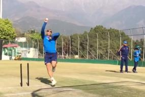 India vs Sri Lanka: Dhoni Turns His Arm Over in the Nets, Watch Video