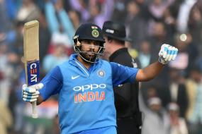 Was Determined to Stick it Out After Reaching 100, Says Rohit Sharma