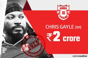 IPL Auction 2018: Chris Gayle, R Ashwin Join Top-buy KL Rahul at Kings XI Punjab