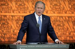 George W Bush Condemns Bigotry in a Veiled Attack on Donald Trump