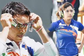ISSF World Cup: Jitu Rai and Heena Sidhu Win Gold in Air Pistol Mixed Team Event