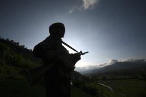 Terrorist Gunned Down in Kashmir's Handwara, Operation Underway