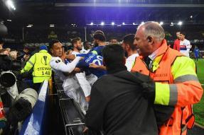 Everton Ban Fan, Police Probe Goodison Park Brawl
