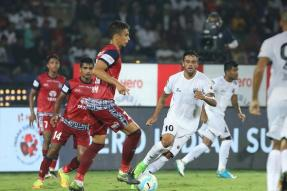 ISL 2017: Poor Finishing Forces NorthEast United & Jamshedpur to Share Points