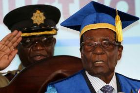 Zimbabwe's Mugabe Appears in Public For First Time Since Army Took Charge