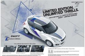 Maruti Suzuki Swift Limited Edition Launched for Rs 5.44 Lakh