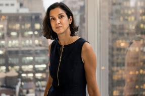 Why Does Vanity Fair Staff Only Care About Radhika Jones' Fox Print Tights?