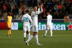 Champions League: Cristiano Ronaldo Hits Brace as Real Surge Into Last 16