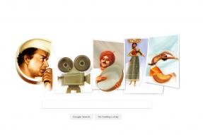 Google Doodle Pays Tribute to Indian Filmmaker V. Shantaram on His 116th Birth Anniversary